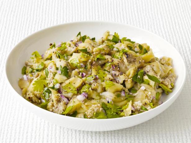 Фотография блюда - Салат из баклажанов