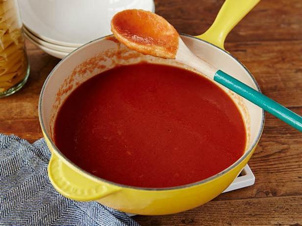 Фотография блюда - Томатный соус из печёных помидоров