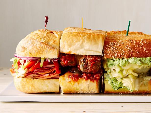 Фото 50 бутербродов для вечеринки