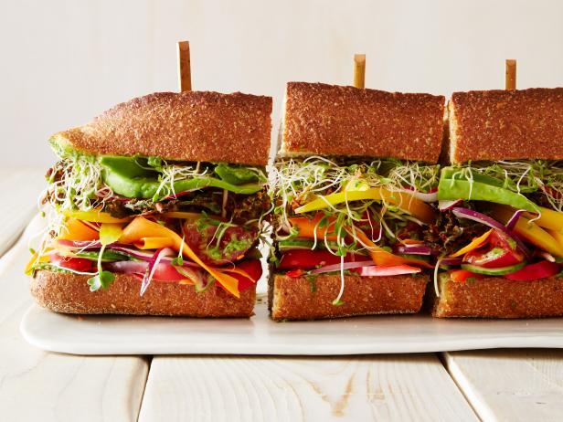 7. Сэндвич по-калифорнийски