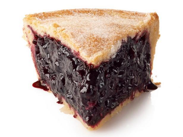 Фотография - Закрытый черничный пирог