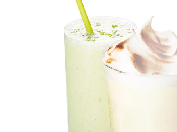 15. Лаймовый молочный коктейль