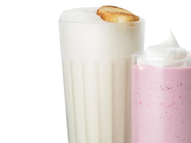 2. Молочный коктейль с маршмеллоу