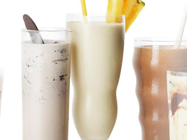 16. Молочный коктейль «Пина колада»