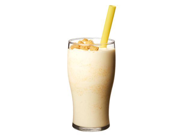 9. Молочный коктейль с кукурузными хлопьями