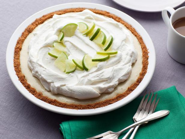 Фотография блюда - Замороженный лаймовый пирог
