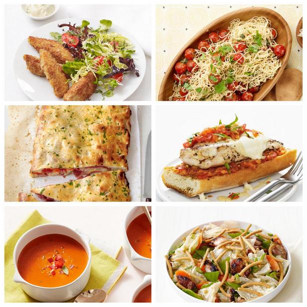 Фото Рецепты блюд для летнего ужина