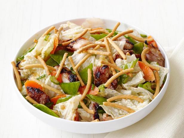 Фотография блюда - Куриный салат по-китайски