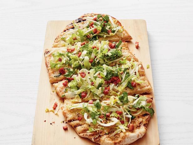 Фотография блюда - Летняя пицца на гриле