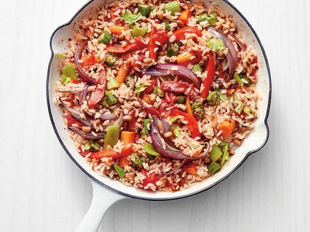 Фотография блюда - Вегетарианская Джамбалайя