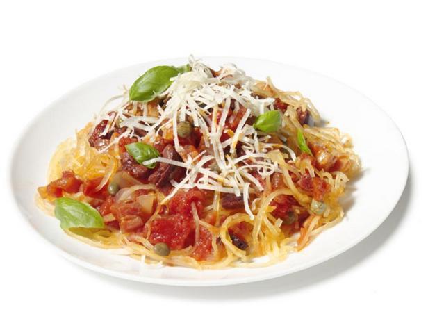 Фотография блюда - Тыквенные спагетти