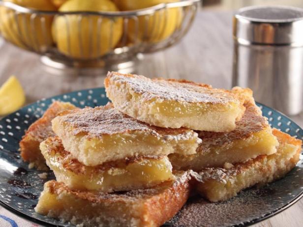 Фотография блюда - Лимонная плитка