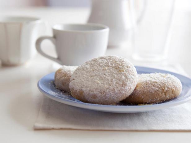 Фотография блюда - Лимонное печенье с орешками