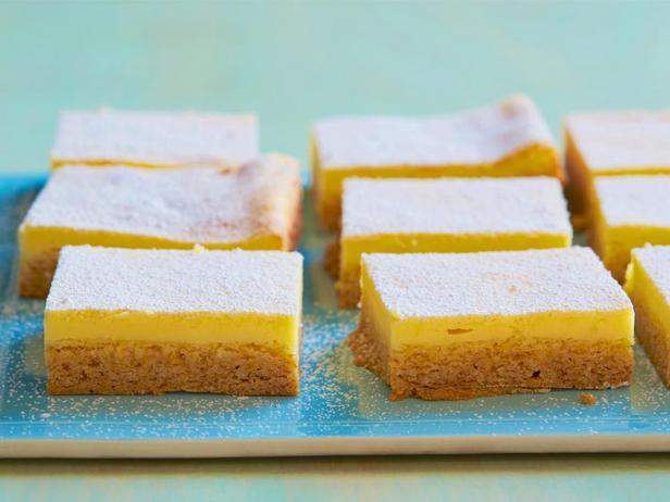 Фотография блюда - Лимонное пирожное с творожным кремом