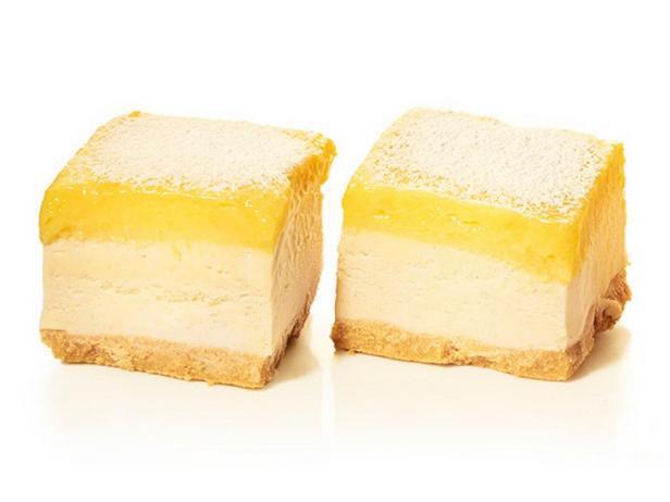 Фотография блюда - Пирожные с мороженым и лимонным кремом