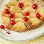 Ананасовый пирог-перевёртыш в медленноварке