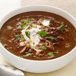 Фасолевый суп с индейкой в мультиварке