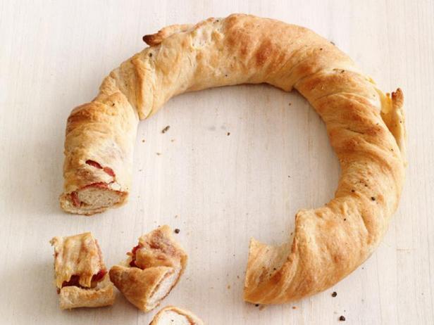 Фото Хлеб с ветчиной