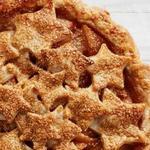 Пирог со звёздами и грушевой начинкой