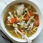 Суп с курицей и лапшой в мультиварке