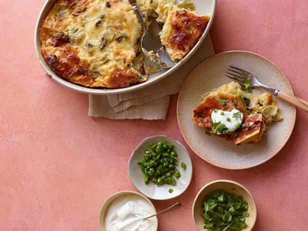 Фотография блюда - Страта с перцем чили и сыром