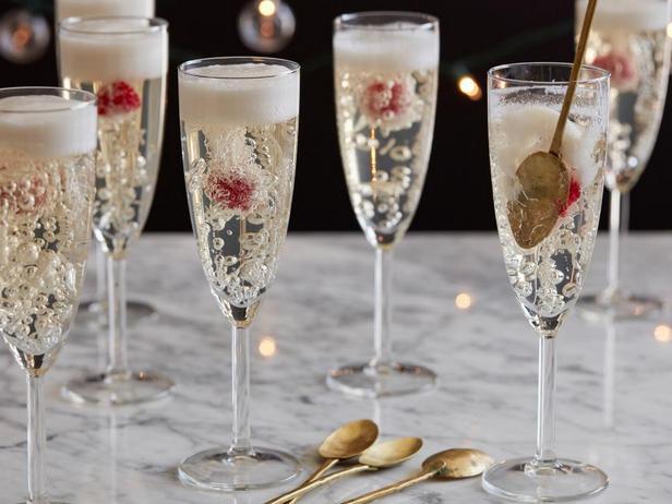 Фотография блюда - Желе из шампанского