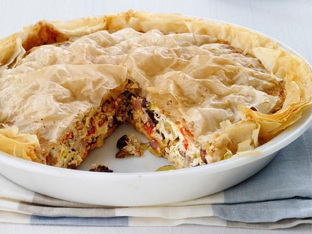 Фотография блюда - Идеальный пирог для завтрака