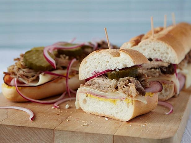 Фотография блюда - Кубинский сэндвич в медленноварке