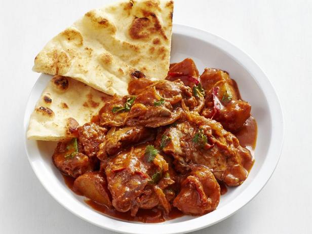 Фотография блюда - Баттер Чикен – курица в сливочно-томатном соусе по-индийски в медленноварке