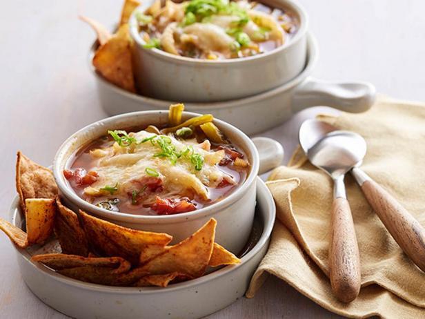 Фотография блюда - Острый суп «Фахита»