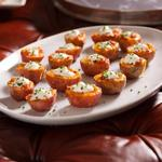Картофельные лодочки с сыром