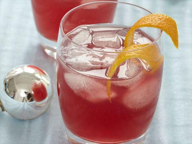 Фото Тонизирующий апельсиново-смородиновый коктейль