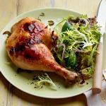 Курица в медово-лаймовом маринаде в духовке