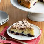 Черничный пирог со штрейзелем