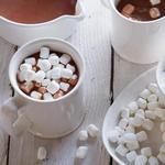Горячий шоколад со вкусом имбирного пряника