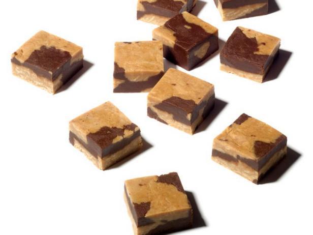 Фото Ирис со вкусом шоколада и арахисовой пасты