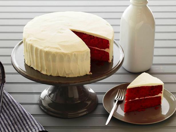 Фото Фантастический торт «Красный бархат»
