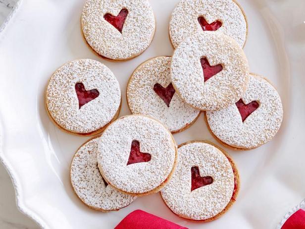 Фото Линцское мини-печенье