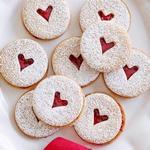 Линцское мини-печенье