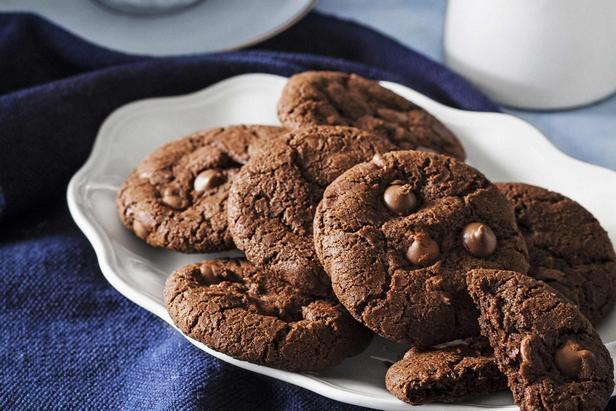 Фото Безглютеновое печенье «Двойной шоколад»
