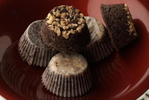 Фото Шотландские шоколадные кексы с овсяными хлопьями