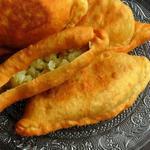 Алу пай – пирожки с картошкой и зелёным горошком