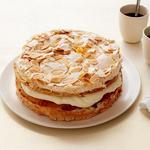 Торт-безе со вкусом эгг-ног