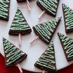Брауни «Рождественские ёлки»