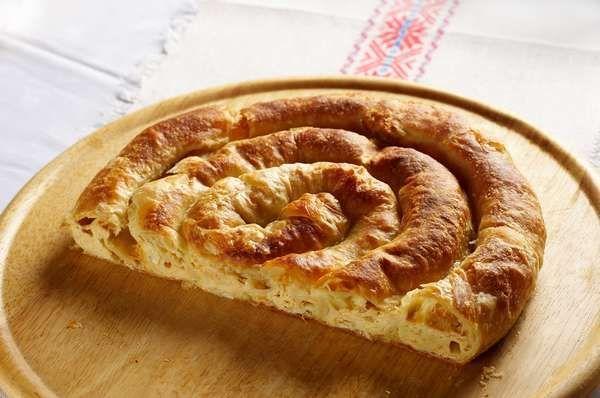 Фото Белокраньская повитица с сыром