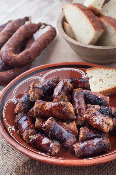 Фото Португальская колбаса Лингвика в домашних условиях