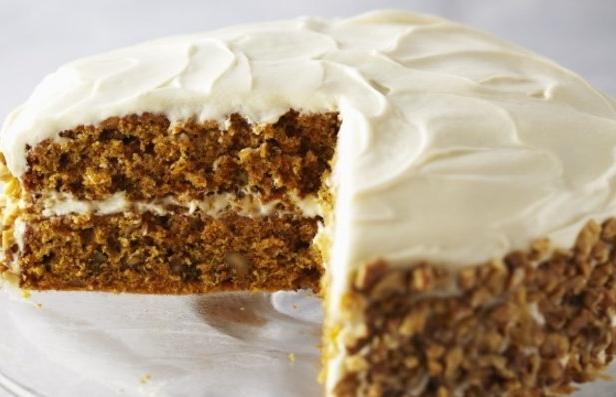 Фото Морковный торт с творожным кремом