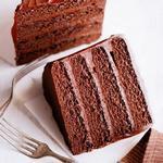Шоколадный торт для двоих