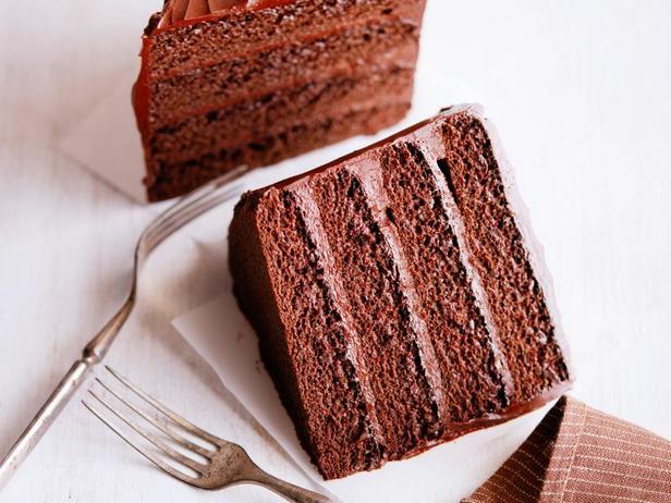 Фото Шоколадный торт для двоих