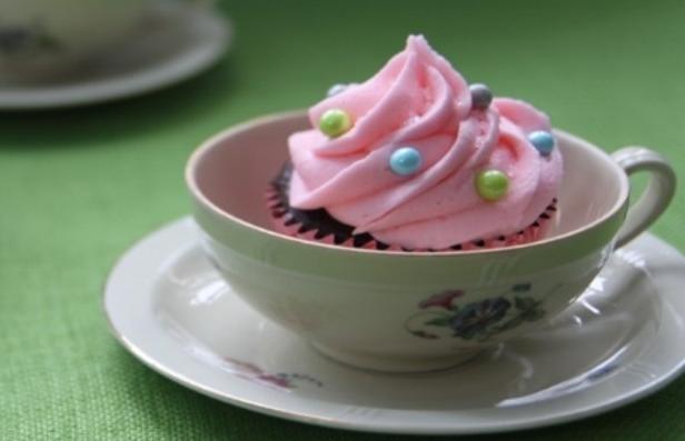 Фото Веганские шоколадные капкейки